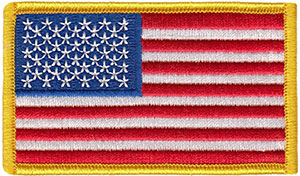 American Flag Patch, US Flag Patch