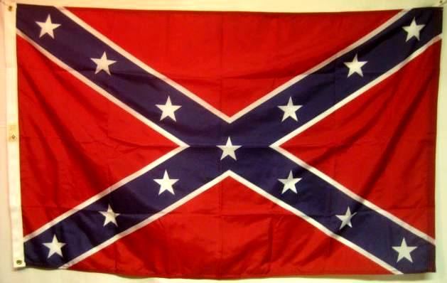 1861 Historic General Hardee Battle Flag Poly 3 X 5