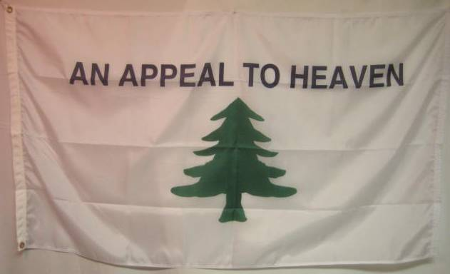 An appeal to heaven flag
