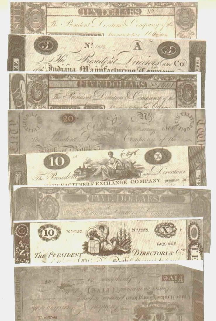 Confederate money, Union Money