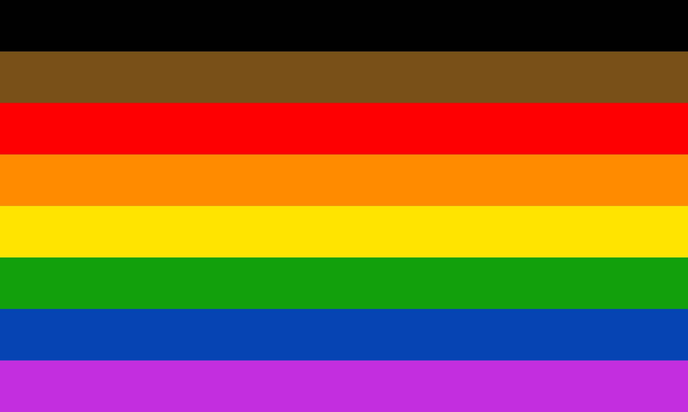 Philadelphia Rainbow Pride Flag
