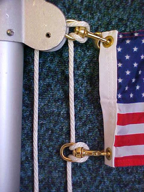How To Re Rope A Flagpole Rerope A Flagpole