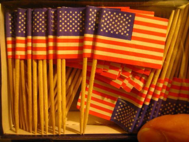 American Toothpick Flags